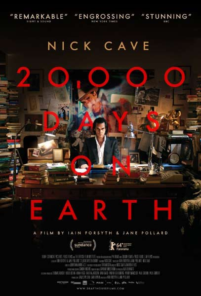 20,000 Days on Earth (2014)  - Movie Poster