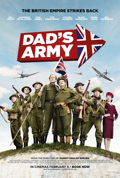 Dad\'s Army (2015) - Movie Poster