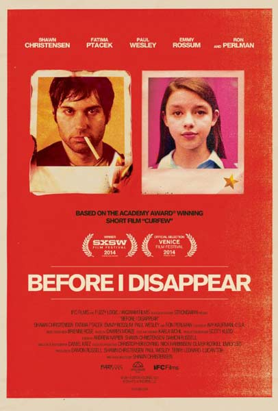 Before I Disappear (2014)  - Movie Poster