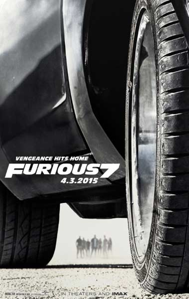 Furious 7 (2015)  - Movie Poster