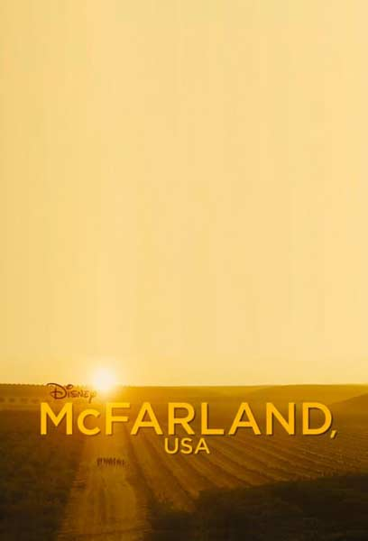 McFarland, USA (2015)  - Movie Poster