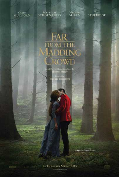 Far from the Madding Crowd (2015) - Movie Poster
