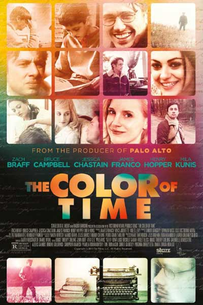 The Color of Time (2012) - Movie Poster
