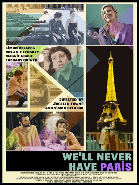 We\'ll Never Have Paris (2014)  - Movie Poster