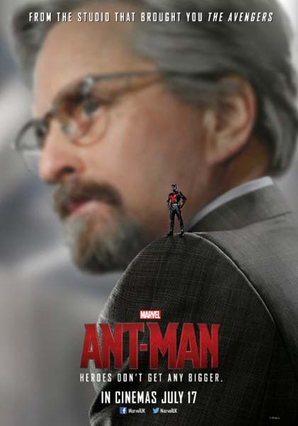 Ant-Man (2015) - Movie Poster