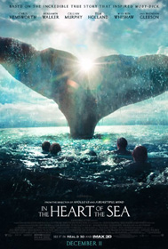 In the Heart of the Sea (2015) - Movie Poster