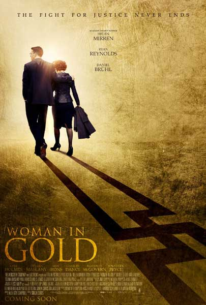 Woman in Gold (2015) - Movie Poster