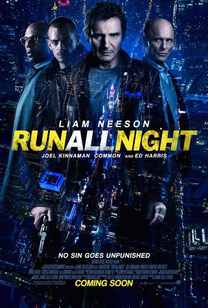 Run All Night (2015) - Movie Poster