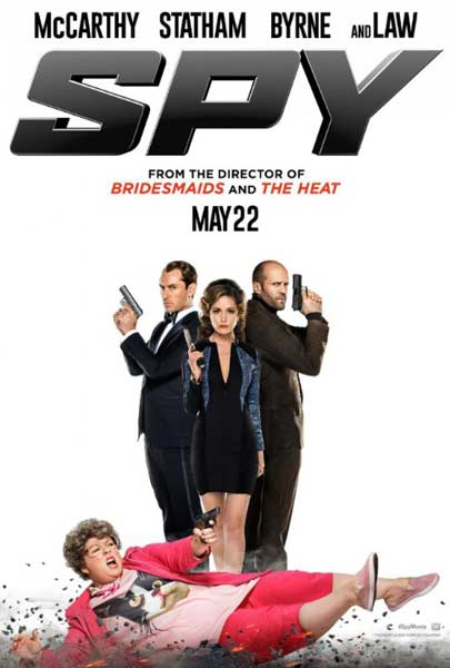 Spy (2015) - Movie Poster