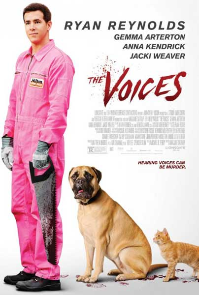 The Voices (2014) - Movie Poster