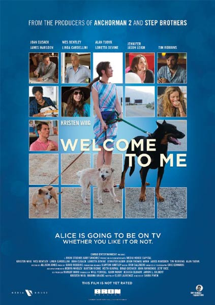Welcome to Me (2014) - Movie Poster