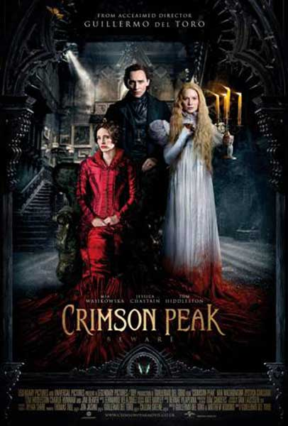 Crimson Peak (2015) - Movie Poster