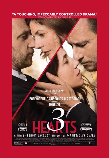 3 Hearts (2014)  - Movie Poster