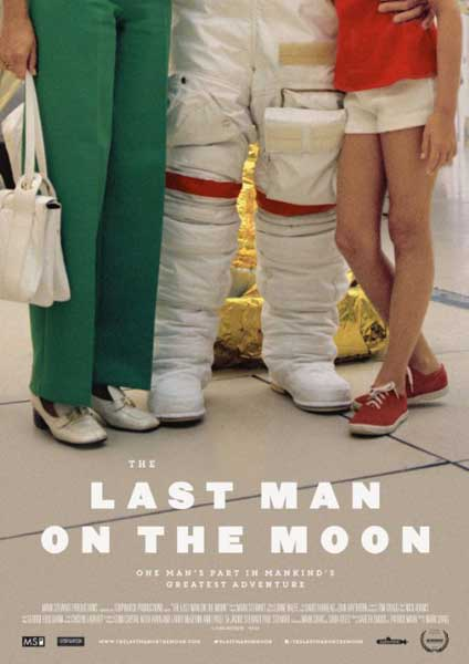The Last Man on the Moon (2014) - Movie Poster
