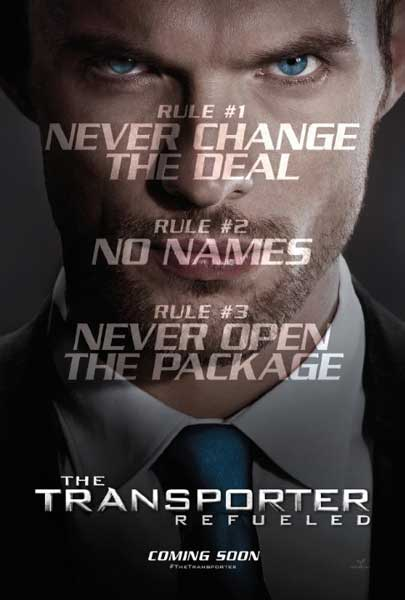 The Transporter Refueled (2015) - Movie Poster