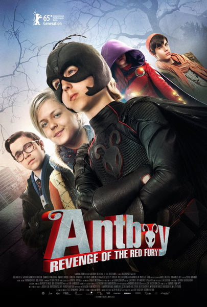 Antboy: Revenge of the Red Fury (2014)  - Movie Poster