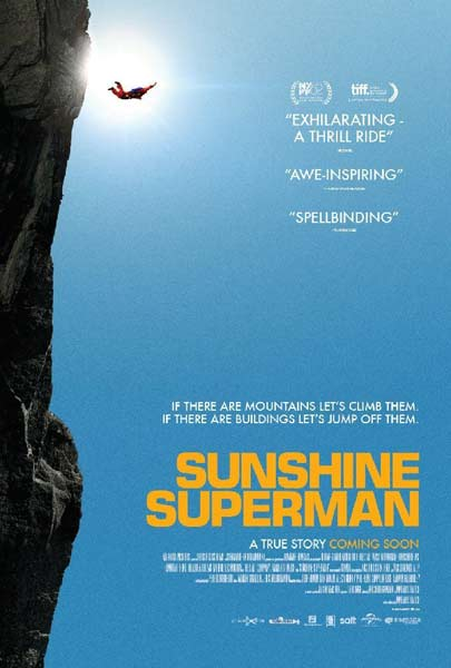 Sunshine Superman (2014) - Movie Poster