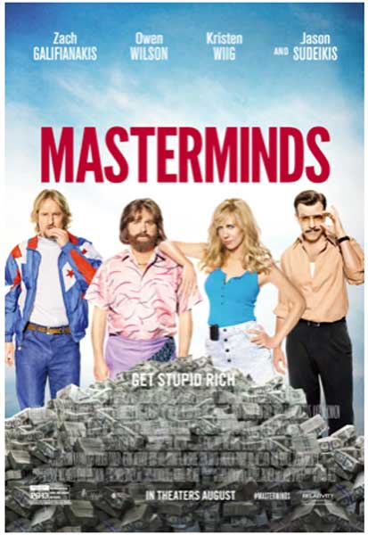 Masterminds (2015) - Movie Poster