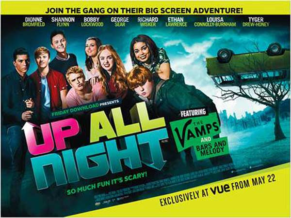 Up All Night (2015) - Movie Poster