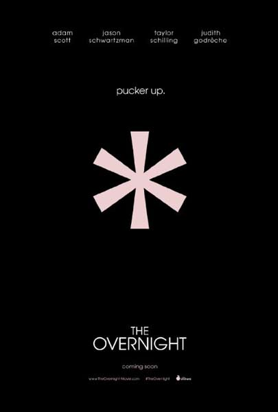 The Overnight (2015) - Movie Poster