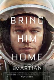 The Martian (2015) - Movie Poster