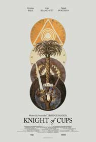 Knight of Cups (2015) - Movie Poster