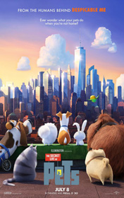 Secret Life of Pets, The (2016) - Movie Poster