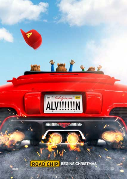 Alvin and the Chipmunks: The Road Chip (2015) - Movie Poster