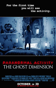 Paranormal Activity: The Ghost Dimension (2015) - Movie Poster