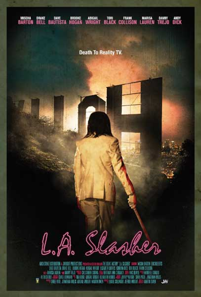 L.A. Slasher (2015) - Movie Poster