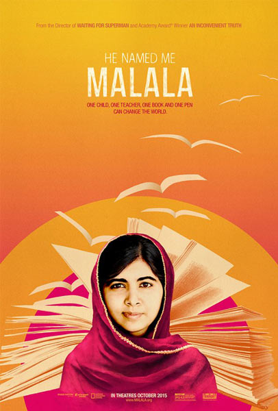 He Named Me Malala (2015) - Movie Poster