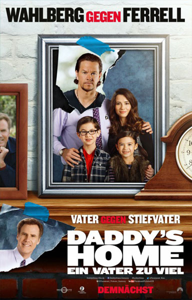 Daddy\'s Home (2015) - Movie Poster