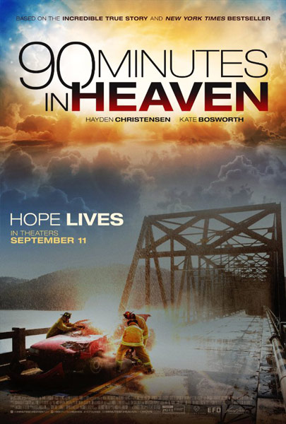 90 Minutes in Heaven (2015) - Movie Poster