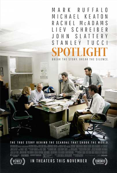 Spotlight (2015) - Movie Poster