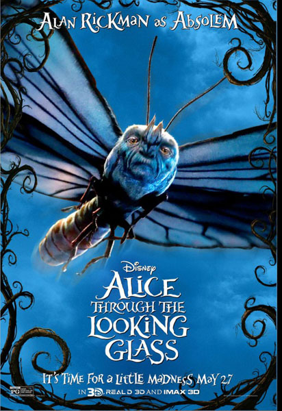 Alice Through the Looking Glass (2016) - Movie Poster