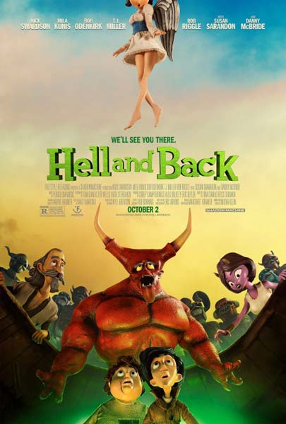 Hell and Back (2015) - Movie Poster