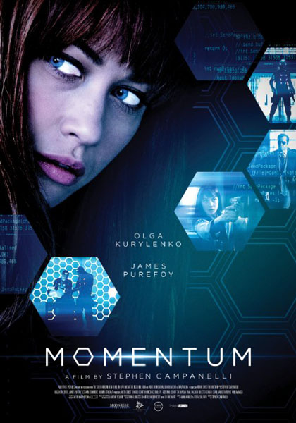 Momentum (2015) - Movie Poster