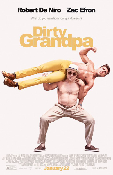 Dirty Grandpa (2016) - Movie Poster
