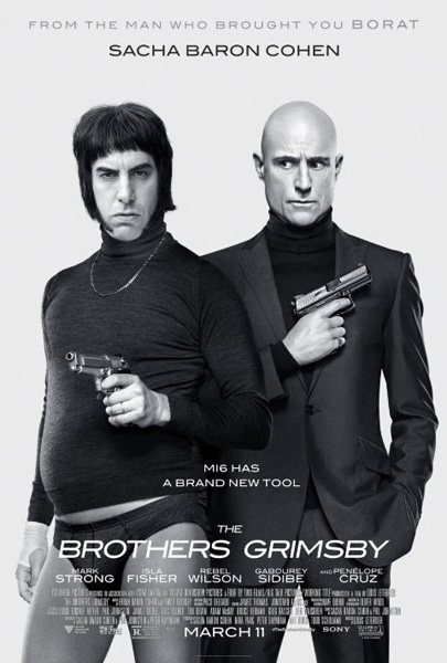 Brothers Grimsby, The (2016) - Movie Poster