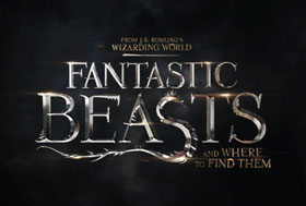 Fantastic Beasts and Where to Find Them (2016) - Movie Poster