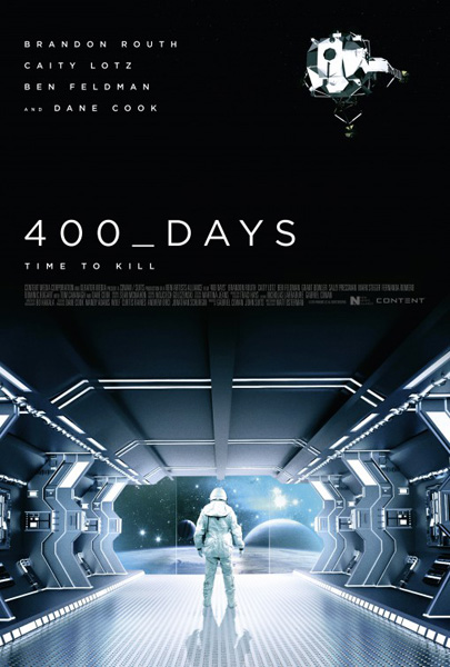 400 Days (2015) - Movie Poster