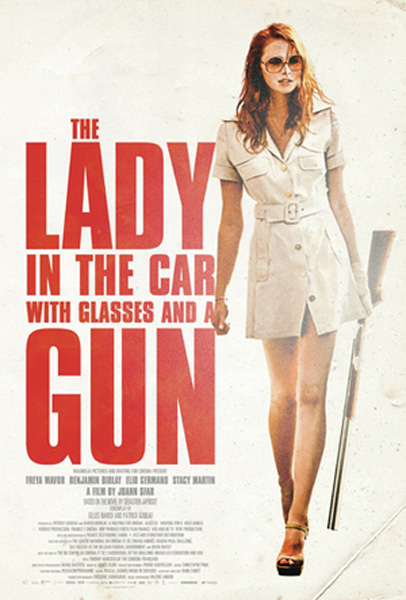 The Lady in the Car with Glasses and a Gun (2015) - Movie Poster