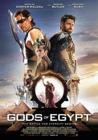 Gods of Egypt (2016) - Movie Poster