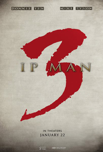 Ip Man 3 (2015) - Movie Poster