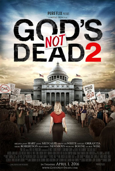 God\'s Not Dead 2 (2016) - Movie Poster