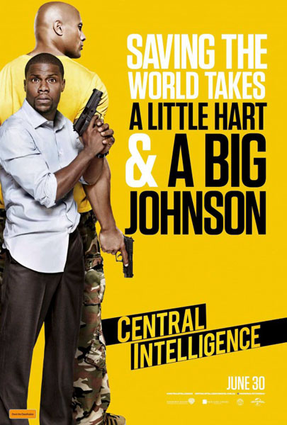 Central Intelligence (2016) - Movie Poster