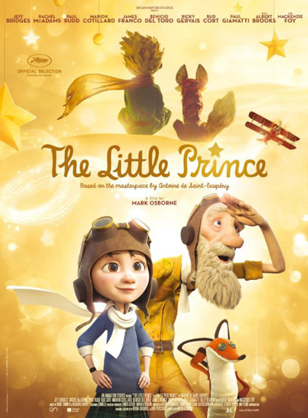The Little Prince (2015) - Movie Poster