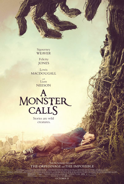 Monster Calls, A (2016) - Movie Poster