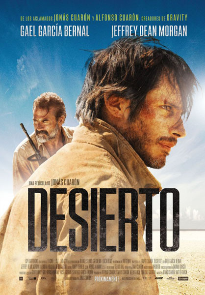 Desierto (2015) - Movie Poster