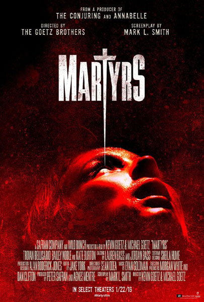 Martyrs (2015) - Movie Poster